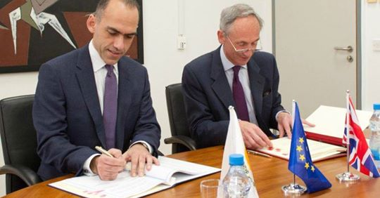 Cyprus And Uk Sign New Treaty